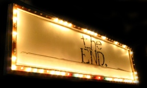 the-end-marquee